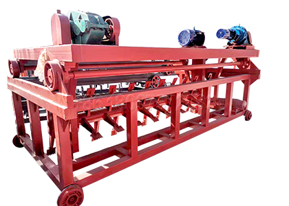 New Designed Trench Compost Turning Machine