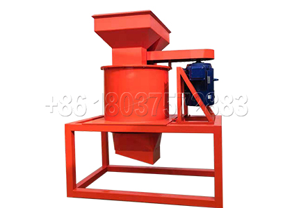 New type Vertical Crusher for Malaysian Organic Fertilizer Plant