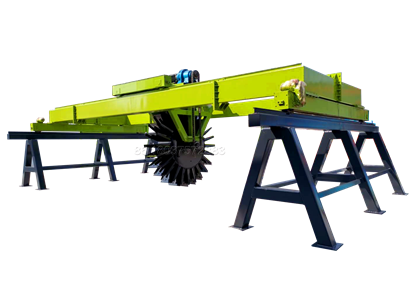Wheel type Compster for Large Scale Manure Composting