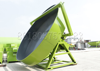 Pan Granulator Machine for Fertilizer Pelleting