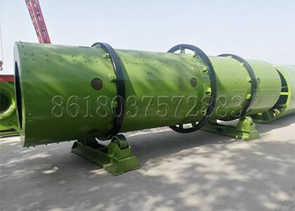 Rotary Drum Granulator For NPK Fertilizer Pelleting