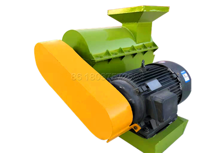 Semi-Wet Crusher for Composted Cow Dung