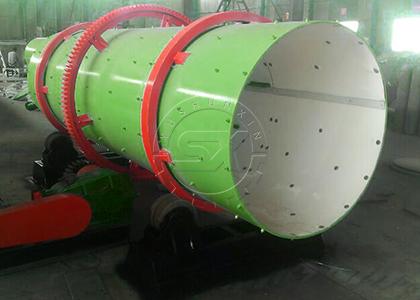The Fertilizer Machine for Coating Fertilizer Granules